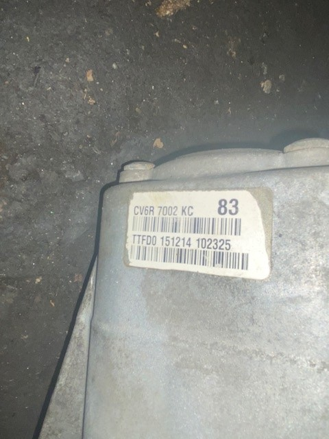 FORD CONNECT GEARBOX-1